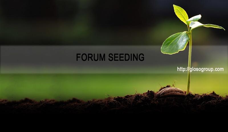 forum seeding hiệu quả - glosogroup.com